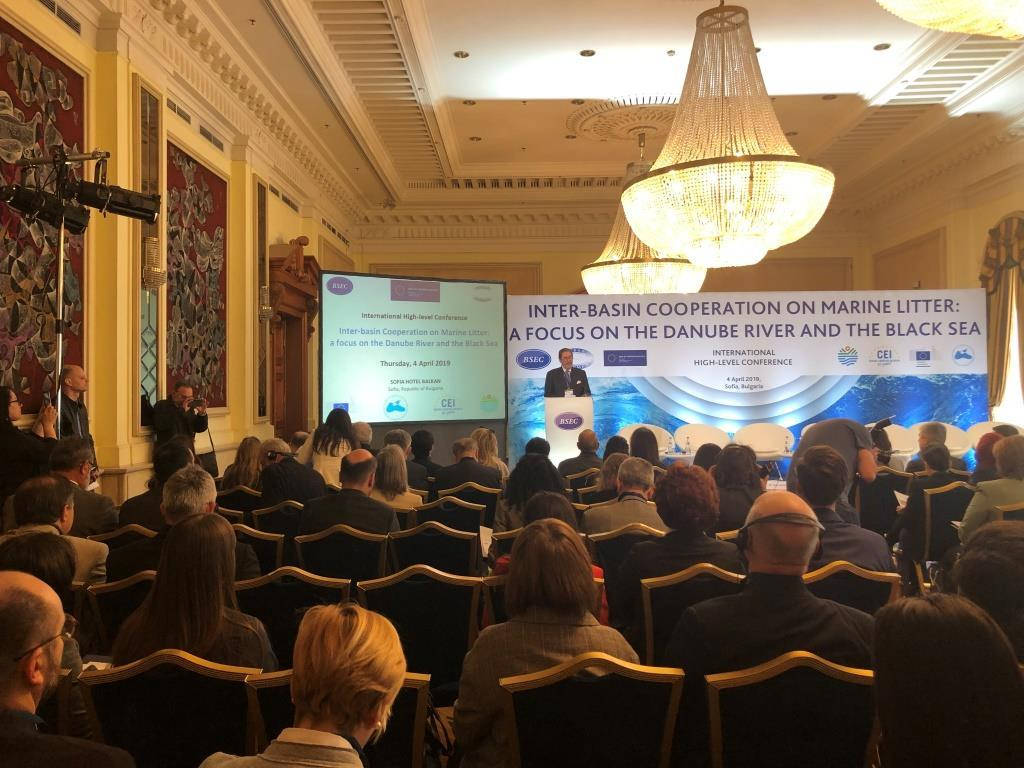 "The International High-level Conference on ""Inter-basin Cooperation on Marine Litter: a focus on the Danube River and the Black Sea"" (Sofia, 4 April 2019)"