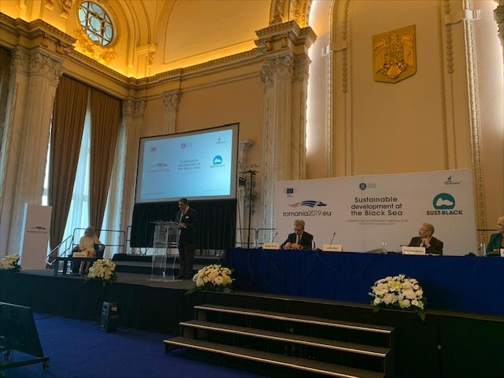 "Conference on ""Sustainable Development at the Black Sea"" (Bucharest, 8-9 May 2019)"