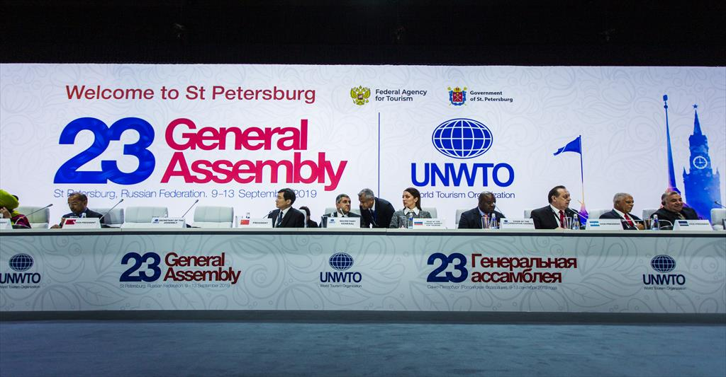 23rd SESSION OF THE UNWTO GENERAL ASSEMBLY (St. Petersburg 10-13 September 2019)