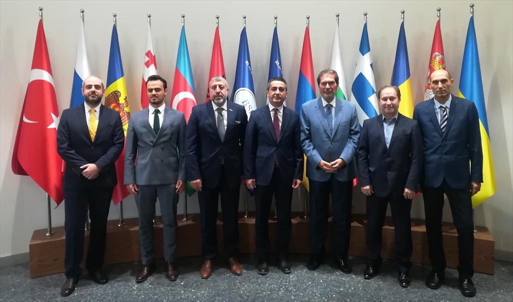 MÜSİAD paid a visit to BSEC PERMIS Headquarters (3 October 2019)