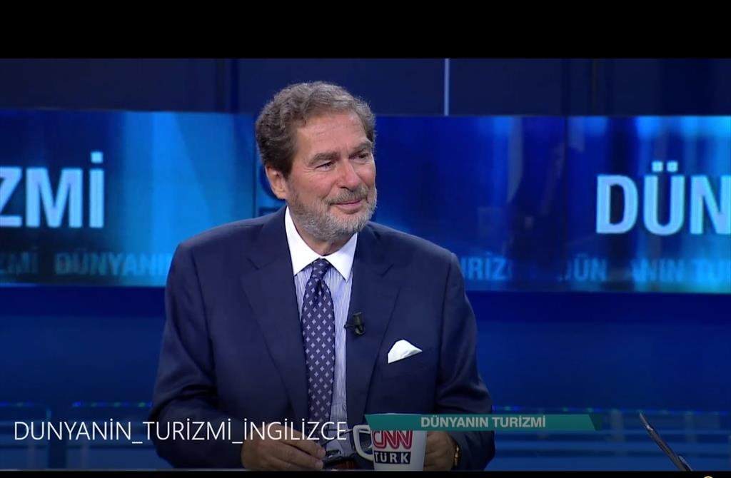 Discussing the tourism potential of the Black Sea region on CNN Türk