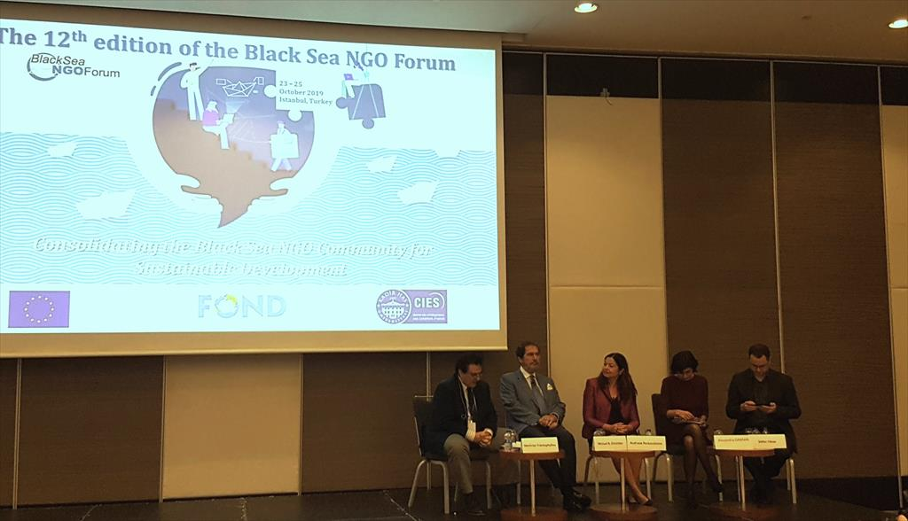 The 12th Edition of the Black Sea NGO Forum (Istanbul, 23-25 October 2019)