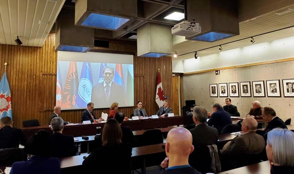 Regional Cooperation in the Wider Black Sea Area  (Carleton University, Ottawa, 2 December 2019)