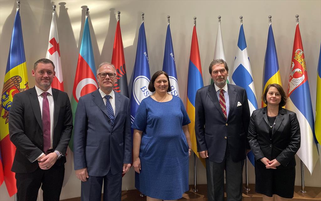 VISIT OF THE CONSUL GENERAL OF THE UNITED STATES OF AMERICA IN ISTANBUL TO THE BSEC PERMIS HEADQUARTERS (17 December 2019)