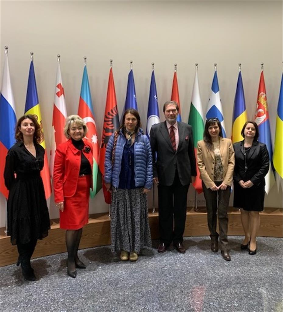 Working visit of the representatives of the World Bank (BSEC Headquarters, 10 February 2020)