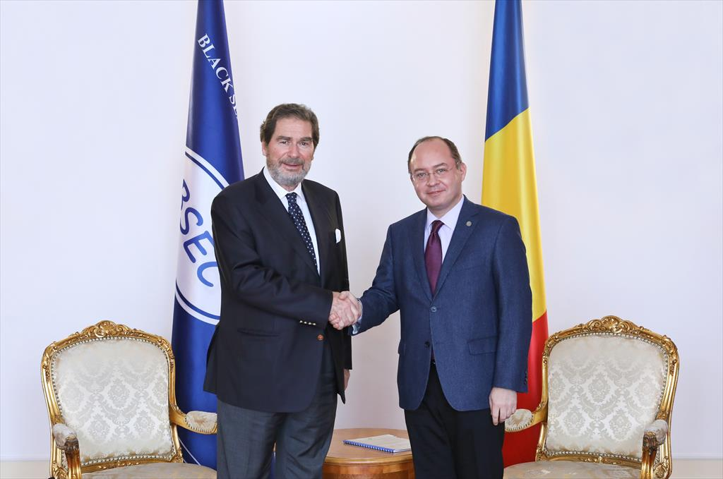 Working visit of the Secretary General to Bucharest (6 February 2020)