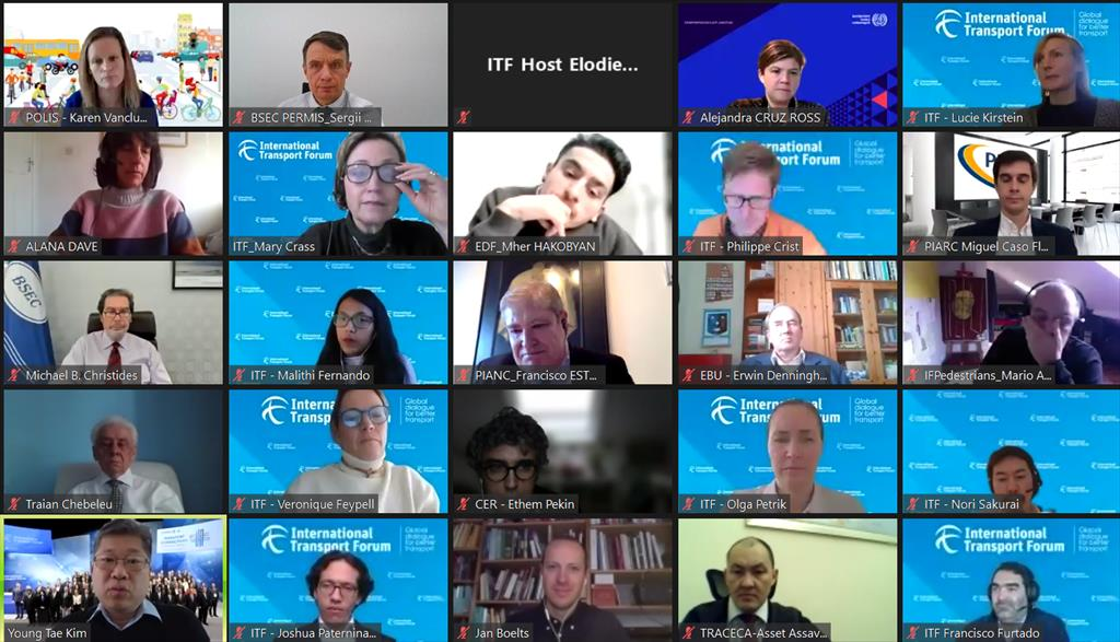 2021 ITF-OECD Consultation with International Organizations