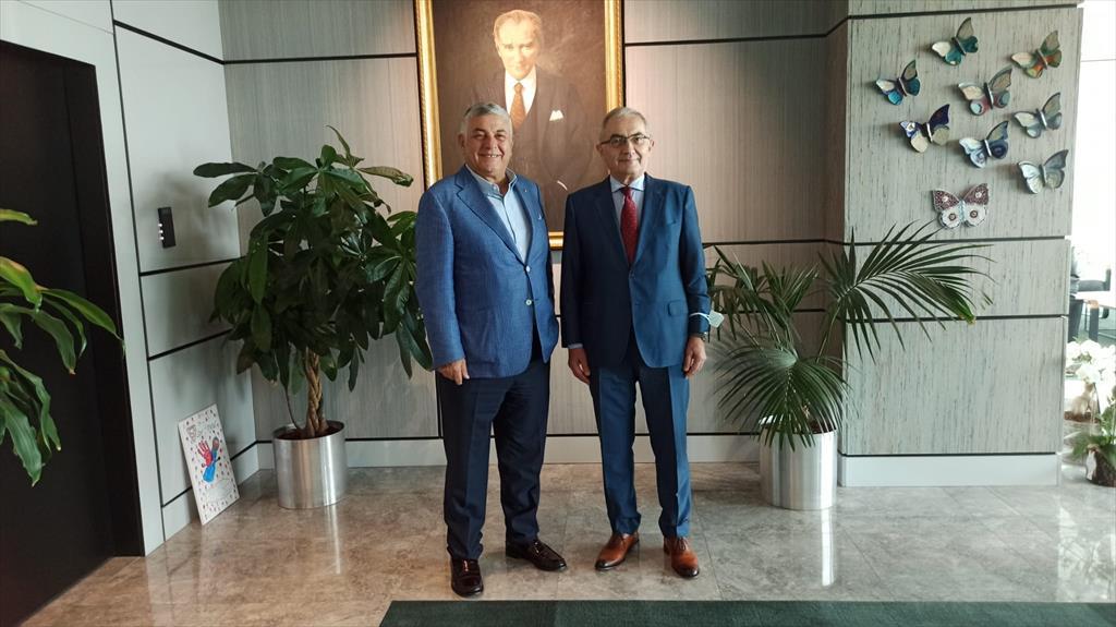 Courtesy visit of the Secretary General to the Mayor of Sarıyer