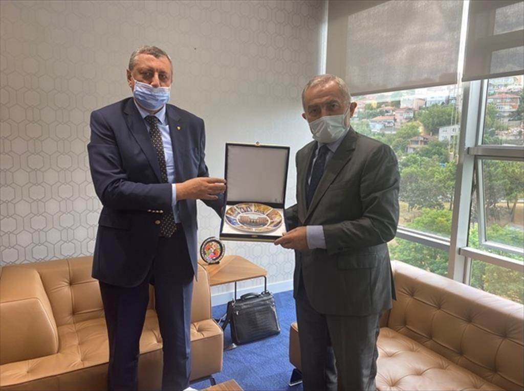 Courtesy visit by the Consul General of the Russian Federation