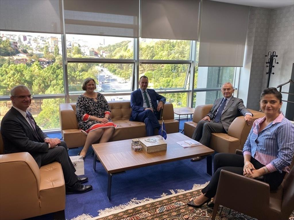 Courtesy visit by the US Diplomatic Representatives in Turkey