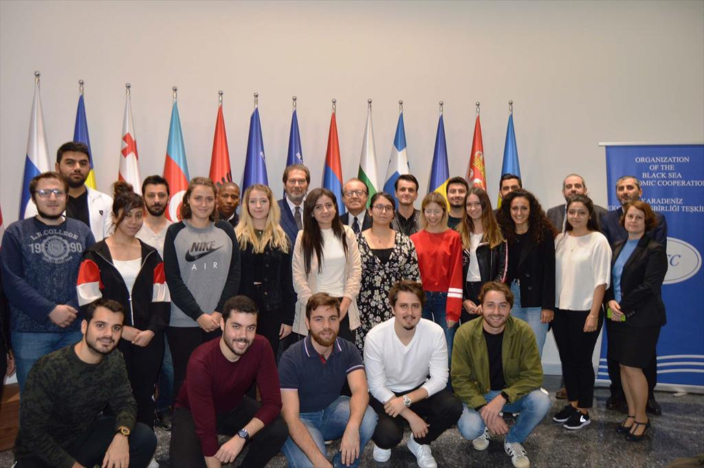 Visit of Undergraduate Students from the Department of International Trade and Business Administration of the Bahçeşehir University (Istanbul)