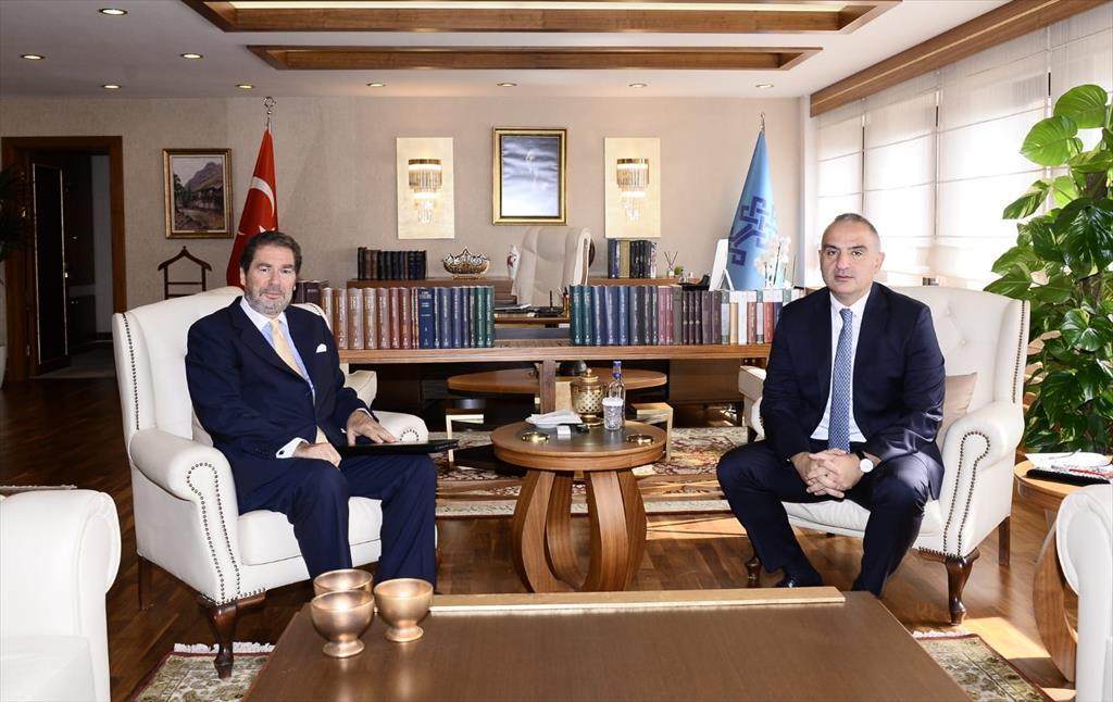 Meeting of the Secretary General of the BSEC PERMIS with the Minister of Culture and Tourism of the Republic of Turkey