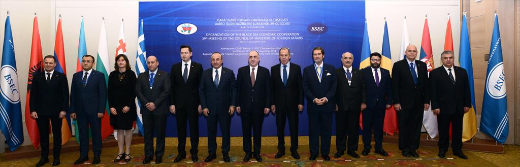 39th Meeting of the BSEC Council of Ministers of Foreign Affairs (Baku, 14 December 2018)